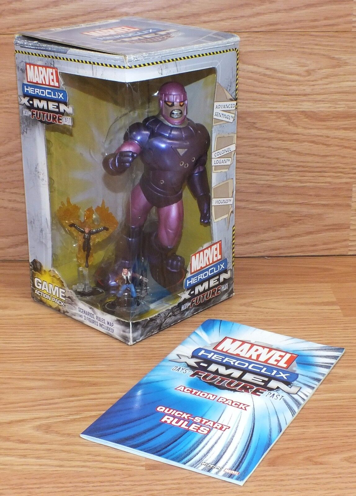 Genuine Heroclix Marvel X-men Days of the Future Past Action Characters w  Box