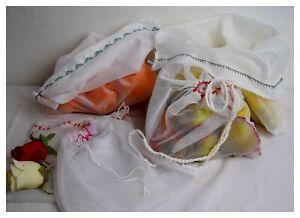 10-2-Stueck-Obstbeutel-Gemuesenetz-wiederverwendbar-umweltschonend-Einkaufsnetz