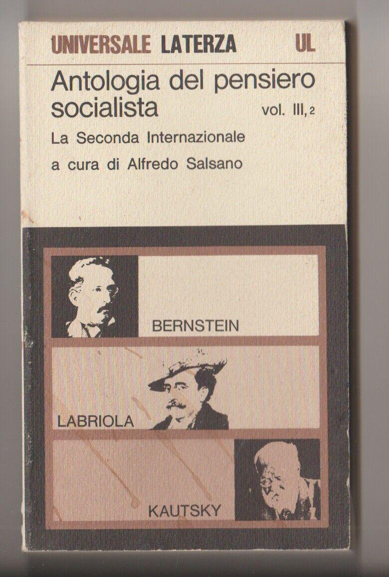 Antologia del pensiero socialista 5° vol. 1° parte
