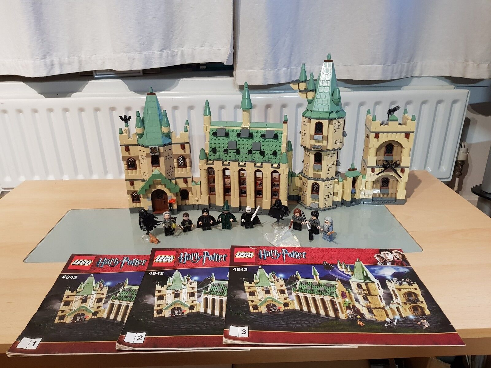 LEGO HARRY POTTER HOGWARTS CASTLE 4842 100% COMPLETE WITH INSTRUCTIONS