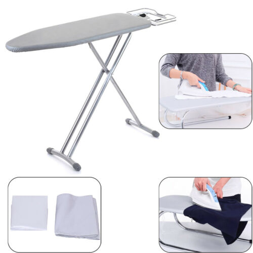 Universal silver coated ironing board cover/&4mm pad thick reflect heat 2 sizesAL