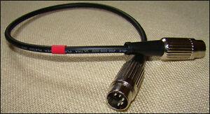 Quad-FM3-Tuner-Quad-33-5-pin-DIN-to-DIN-Interconnect-500-millimetres-length
