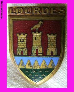 Bg3373 - Insigne Blason Lourdes Rywu1o4n-07232049-501612880
