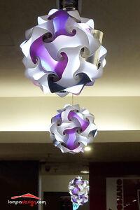 LAMPADARIO MODERNO COLORATO a sospensione sfera Minimal design 35 cm, a 3 STRATI