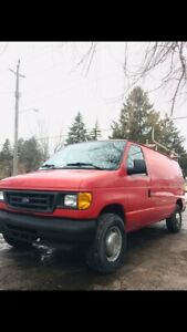 CERTIFIED Low Km Cargo Van E250 - No Issue - Drives Great
