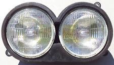 FZR600 FZR 600 DUAL HEADLIGHT HEAD LIGHT CASE BULBS COVERS LIGHTS YAMAHA