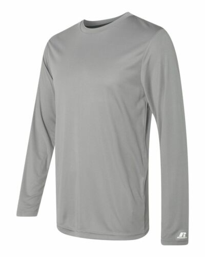 Gym Tee Russell Athletic Men/'s Dri Fit Performance T-Shirt Soccer Sport S-3XL