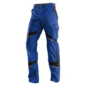 Hochwertige Bundhose/Arbeitshose ACTIVIQ Marke Kübler Gr: 25-118 Blau/Schwarz
