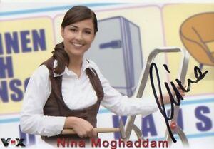 Autogramm - Nina Moghaddam (Wohnen nach Wunsch)
