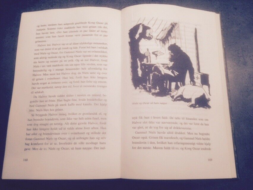 Den kolde jomfrue og andre skrøner, Jørn Riel, genre: krimi