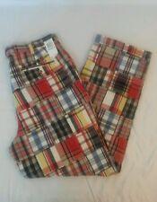 NWT Tommy Hilfiger Long Plaid Men's Pants Sz 36X32