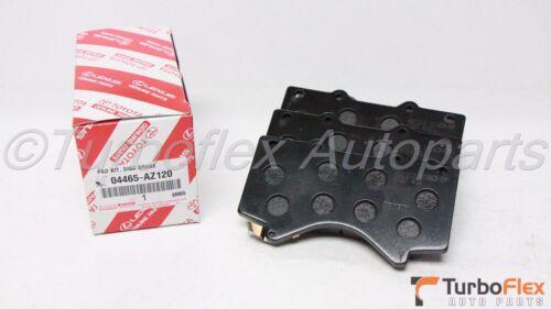 Toyota Tundra 07-17 Sequoia 08-17 Front Ceramic Brake Pads Genuine 04465-AZ120
