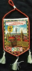 1972 Summer Olympics Munich WIMPEL PENNANT