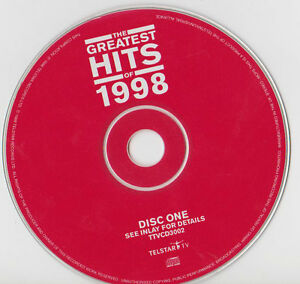 THE-GREATEST-HITS-OF-1998-CD-DISC-ONE-ONLY-NO-CASE