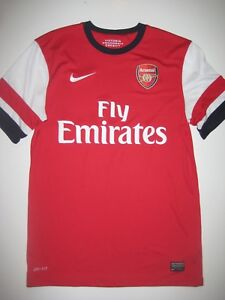 dcda76a95 Image is loading 2012-2013-2014-Arsenal-Shirt-Nike-Home-Jersey-