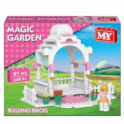Princess Magic garden MY 96pcs Builders Blocks Block Xmas Stocking Fillers NEW