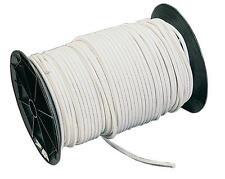 Plastimo - Sandow / elasticizzato diametro 10mm rivestito treccia nylon bianco