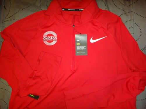 fit Size Dri estilo Nwt 75 Xl Marathon Running Element Nike Chicago 00 Men Camiseta a1Ewqx8w
