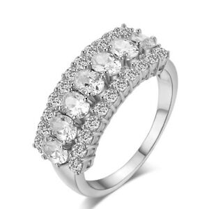 Platinum-Plated-Ring-Made-With-Swarovski-amp-Cubic-Zirconia-Crystal-R788-38