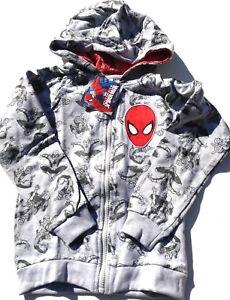 Boys Hoodies Kid/'s Logo Spiderman