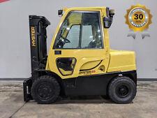 2008 Hyster H80ft 8000lb Pneumatic Forklift Diesel Lift Truck Hi Lo 86120 9794