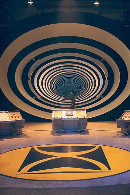 THE TIME TUNNEL JAMES DARREN 24X36 POSTER PRINT