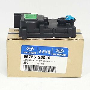 Genuine 9575525010 Door Lock Actuator Rear Left Lh For Hyundai Accent Verna Ebay