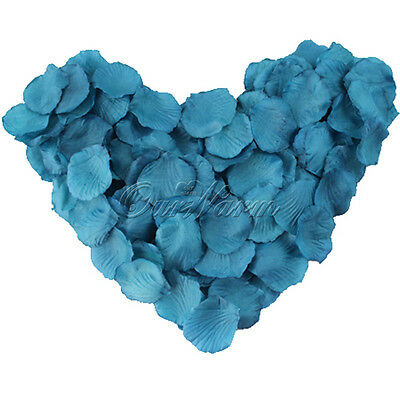 100 Silk Flower Rose Petals Wedding Party Favor Confetti Decor Bridal Multicolor