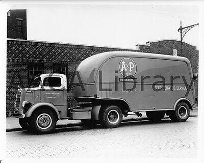 1939 Mack A/&P Model EHU Tractor Trailer Truck Factory Photo Ref. #55626