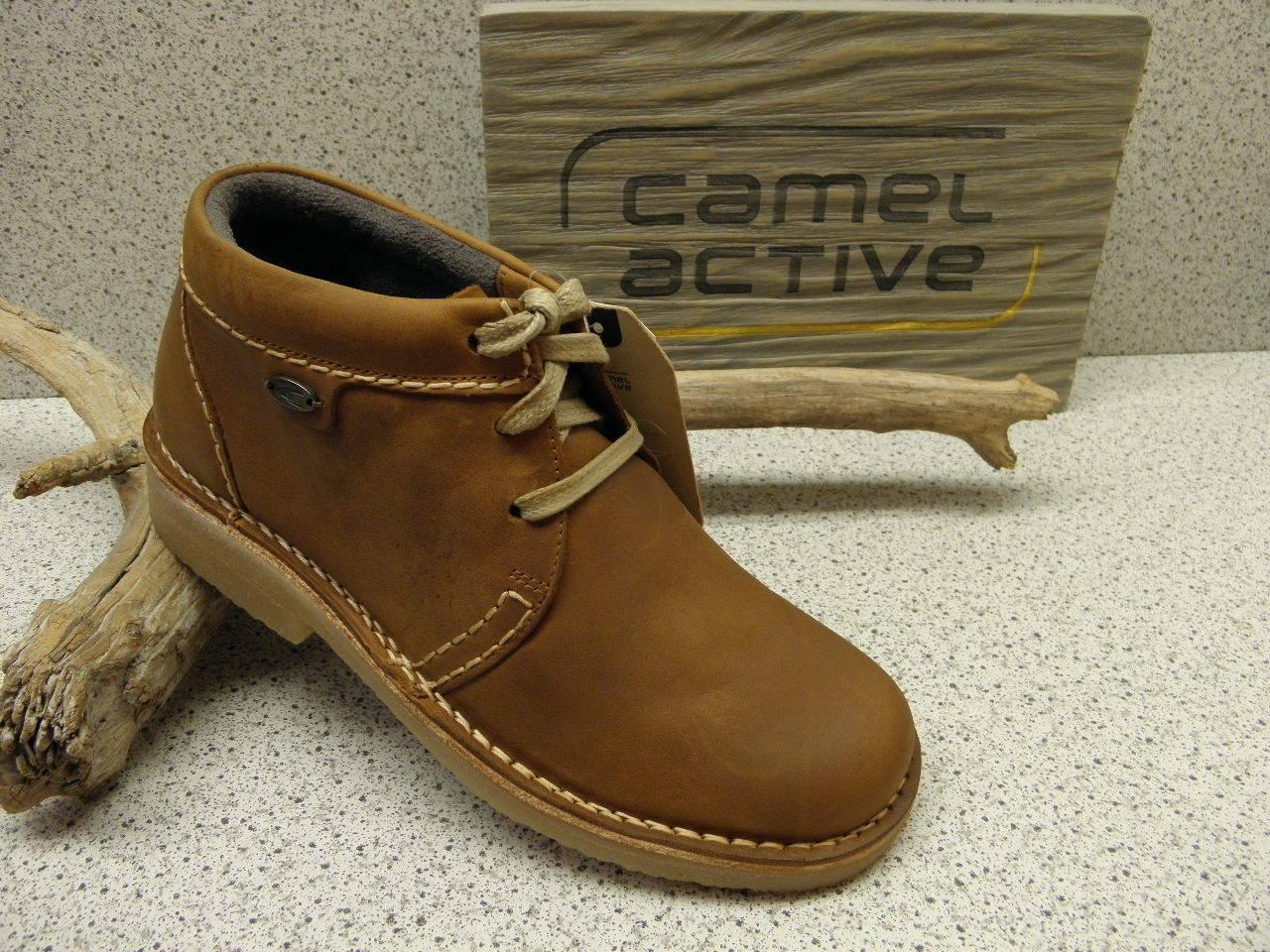 Camel active ® 11%  rotuziert,   Havanna  Kult Stiefel braun (C65)