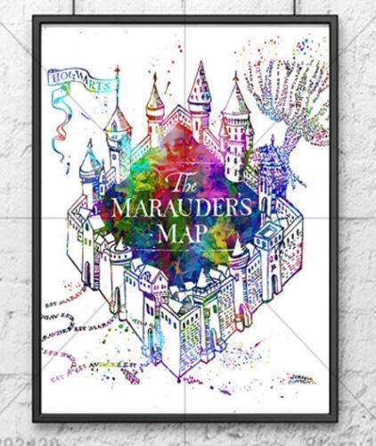 Harry Potter Marauders Map 5D Diy Diamond Painting