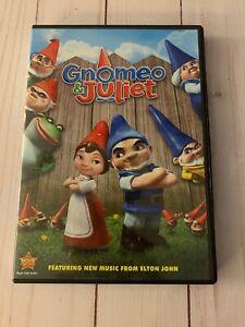 Gnomeo & Juliet DVD Movie Rated G Animated Walt Disney ...