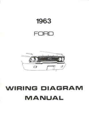 1963 vw van wiring diagram ford 1963 galaxie  ford 300  ranch wagon   country squire wiring  ranch wagon   country squire wiring