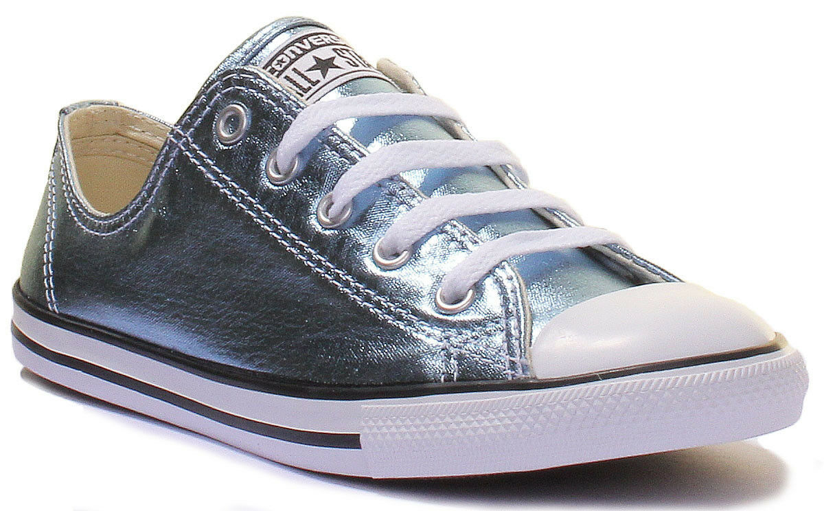Converse Converse Converse Chuck Taylor All Star Womens Faux Leather Lace up Trainers Size 3 - 8 eebd9b