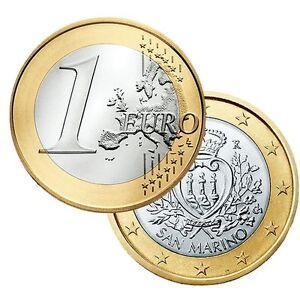Ek // 1 euro Saint Marin # Pièce Nueve : Sélectionnez une Année :