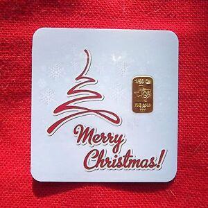 1-50-th-OZ-GOLD-TGR-MERRY-CHRISTMAS-BULLION-Bar-in-Assay-IDEAL-STOCKING-STUFFER