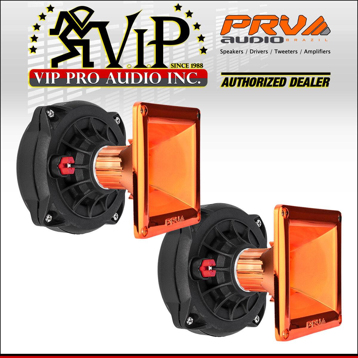 (2) PRV D250Ph-S 1  Phenolic Screw On Driver 150W 8-Ohms + (2) WG11-25 orange CR