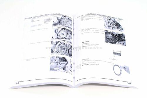 Honda Service Shop Repair Manual 2004-2015 CRF250X Maintenance Book 61KSC10 #a33