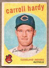 1959 Topps Carroll Hardy Cleveland Indians #168 Baseball Card