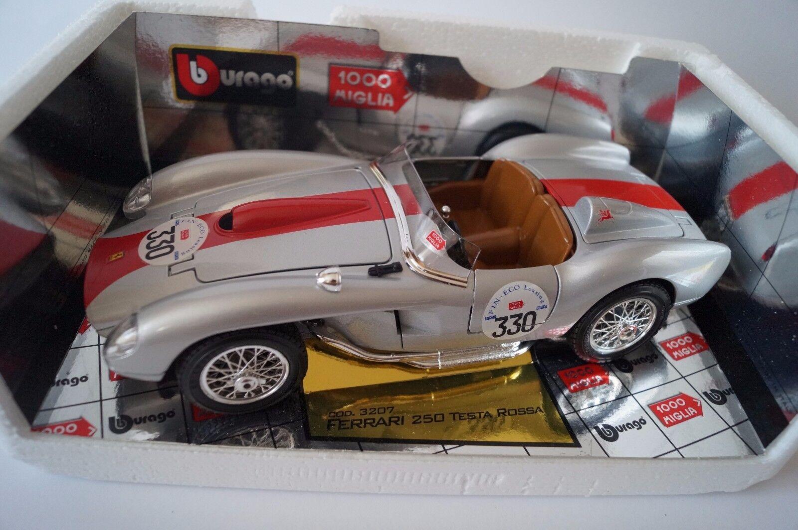 nuovo di marca BBURAGO Burago modellololo di auto 1 1 1 18 FERRARI 250 TEestrellaOSSA cod. 3207 miglia  in OVP   prezzi bassi
