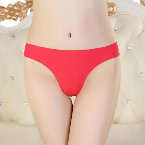 Femme Culotte Lingerie Slip Sans Couture Invisible Sous Vêtement Taille Court NF
