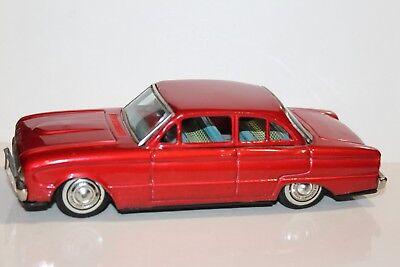 Blechspielzeug Autos & Lkw GüNstiger Verkauf Schöne Vintage Bandai Blech Reibung Puder 1963 Ford Falcon