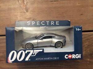 Details about Corgi Aston Martin DB10 1:36 Scale Die Cast James Bond 007  Spectre