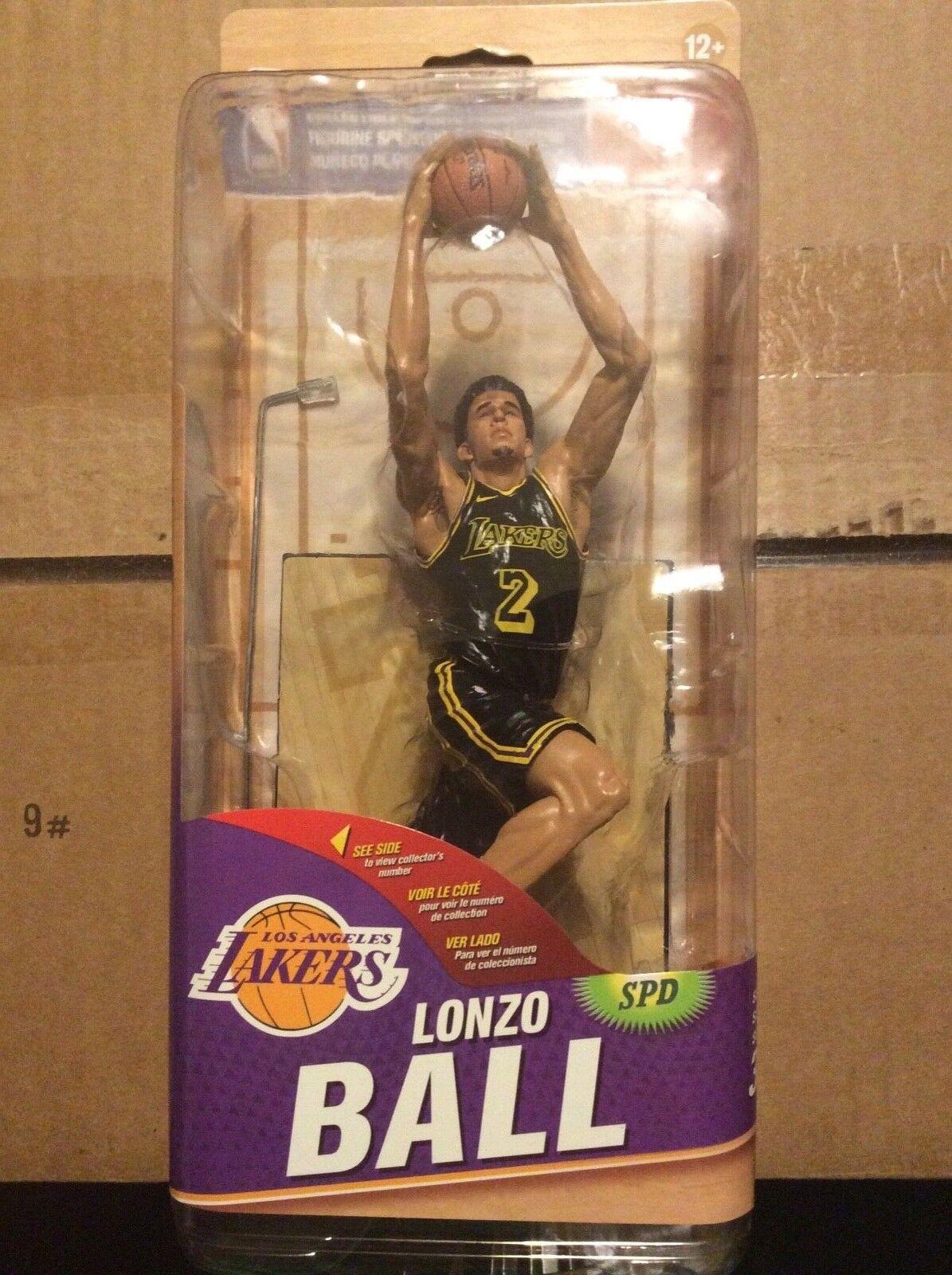 MCFARLANE NBA 32 LONZO BALL GOLD VARIANT LOS ANGELES LAKERS 152/333