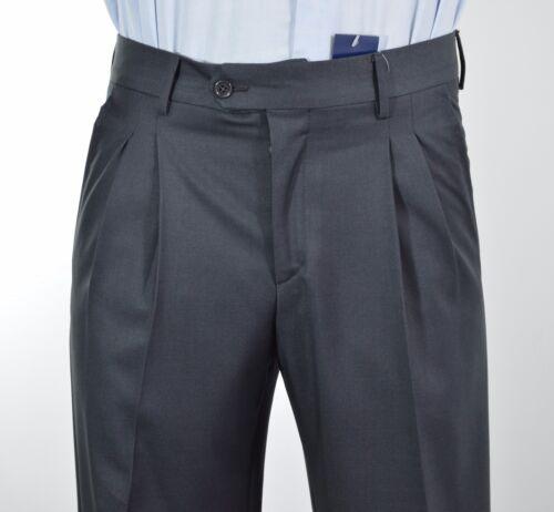 007 tg 48 Pantalone uomo sartoriale inverlane lana  grigio S.Imparato cod
