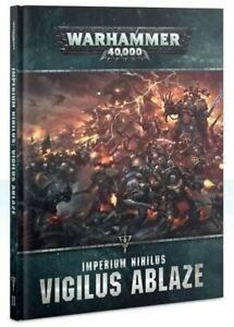 Warhammer 40.000 Imperium Nihilus Vigilus Ablaze (allemand) Gw Campagne Livre