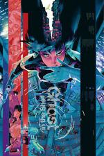 Art Poster Ghost In The Shell Fight Police Anime 36 27x40inch Wall Silk N871