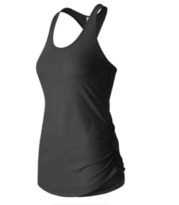 New-Balance-Womens-Perfect-Tank-Top-Black-Large-Polyester-Elastane-NWT