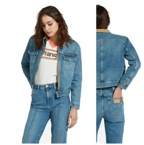 Veste Wrangler Jeans Boyfriend Doubl En Neuf Femme Charpentier P4WTvqT