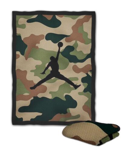 Jordan Army Navy Style Dotted Blanket KIDS // MEDIUM // LARGE